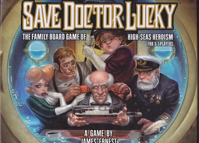 Save Dr Lucky Board Game