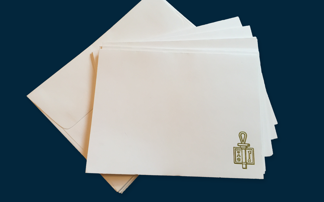 Pack of 10 Notecards with Envelopes