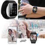 GT08 Bluetooth Smartwatch Smart Watch with SIM Card Slot and 2.0MP Camera for iPhone / Samsung and Android Phones