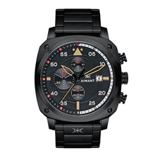 dakar black men's watch