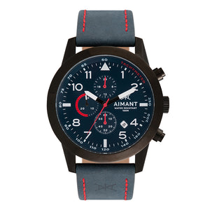 berlin blue black men's watch