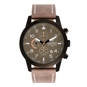 berlin black taupe men's watch