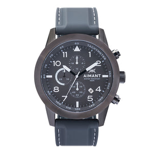 berlin gun metal men's watch