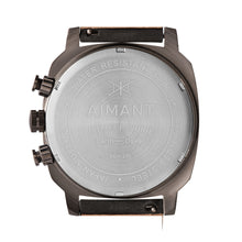 dakar grey gun metal men's watch