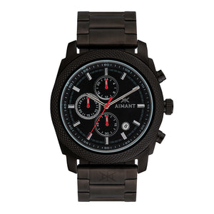 jackson black stainless steel men's watch