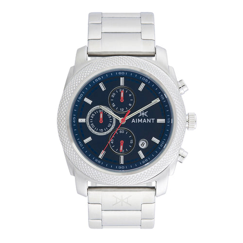 jackson silver blue men's watch
