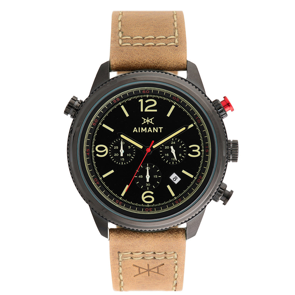 kotor black camel men's watch