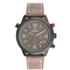 kotor black taupe men's watch