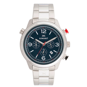 kotor silver blue men's watch