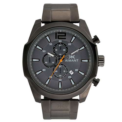 lyon gun metal watch for men