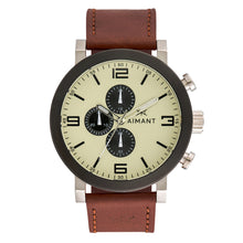 maui black brown men's watch