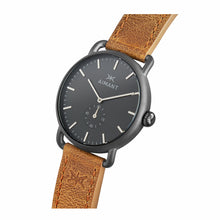gunmetal camel mykonos watch for men