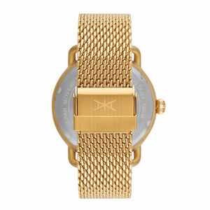 gold mykonos watch for men