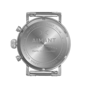 men's rotterdam silver watch
