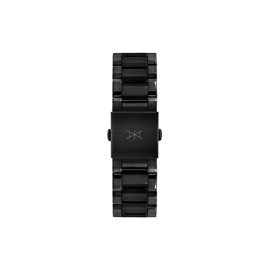 22MM - Black Stainless Steel