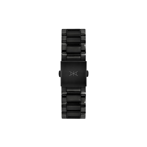 22 MM - Black Stainless Steel