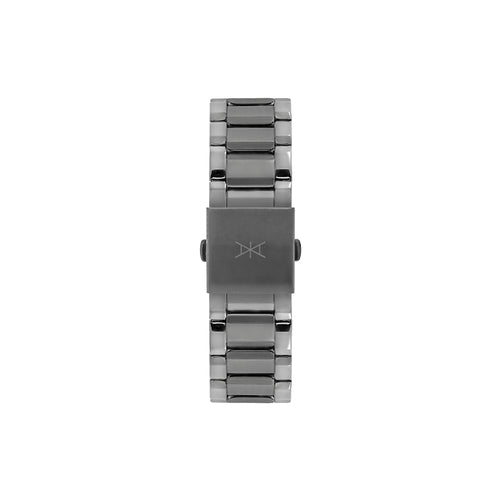 22 MM - Gun Metal Stainless Steel