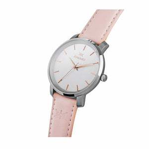 bali silver pink women's watch