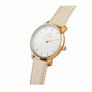 bali gold beige watch for women