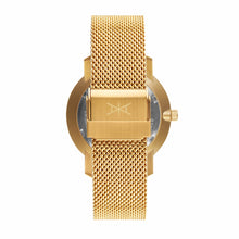 bali gold mesh strap watch for women
