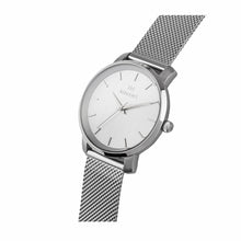 bali silver mesh strap women's watch