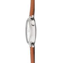 bora silver camel watch for women