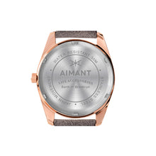 brooklyn rose gold grey women's watch