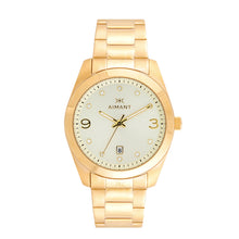 brooklyn gold stainless steel watch for women