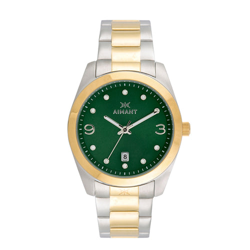 brooklyn silver gold women's watch