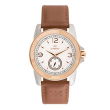 madison silver camel watch for women