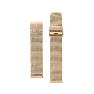 16MM - Rose Gold Stainless Steel Mesh