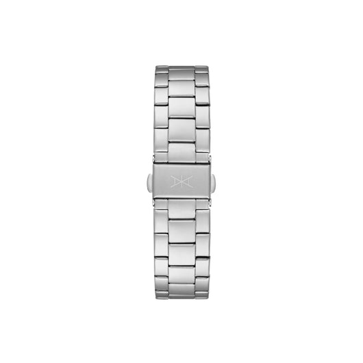 18MM - Silver Stainless Steel Strap