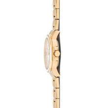 sydney gold white watch for women