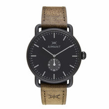 mykonos black olive watch for men
