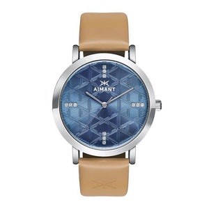 women's paris silver beige watch