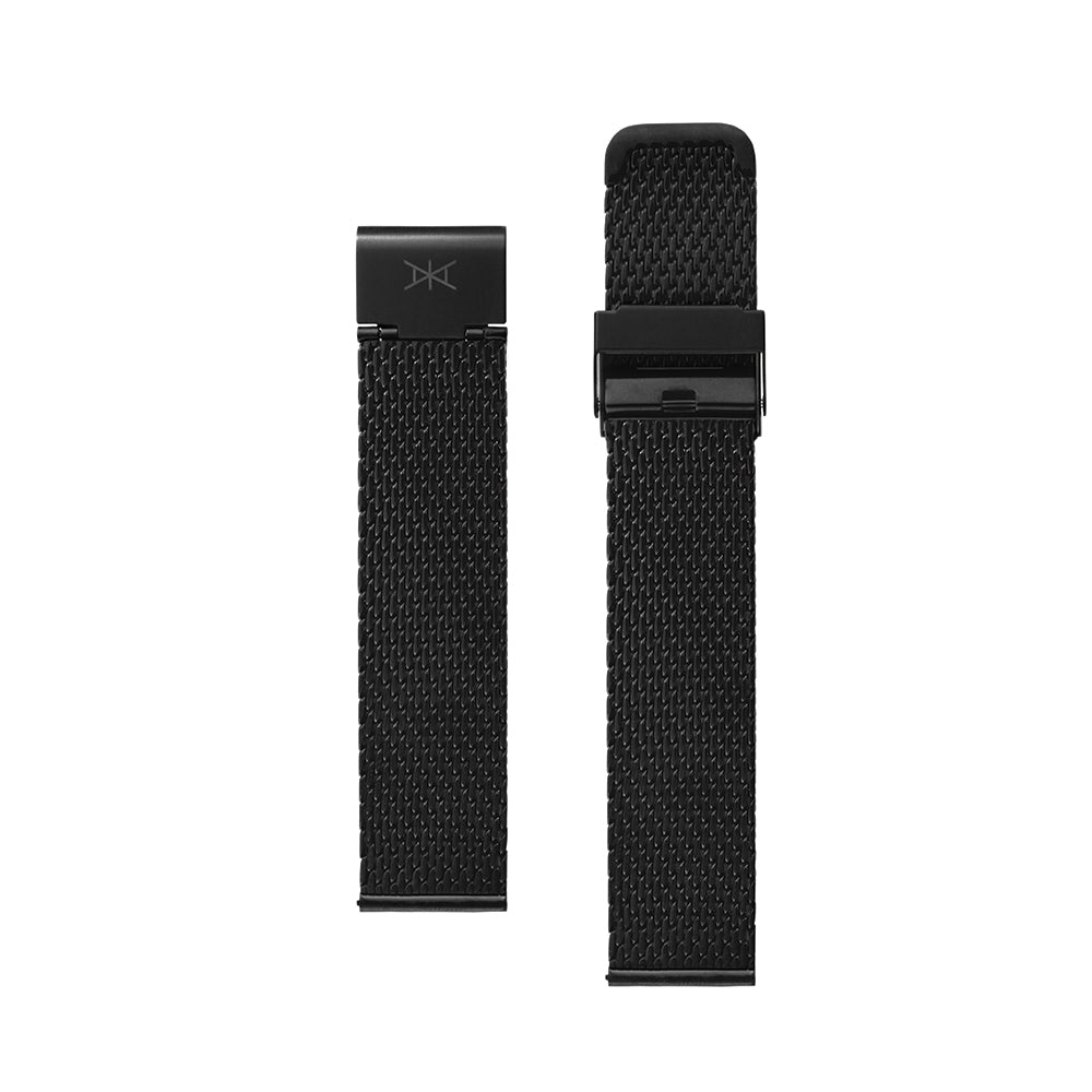 20MM - Black Stainless Steel Mesh