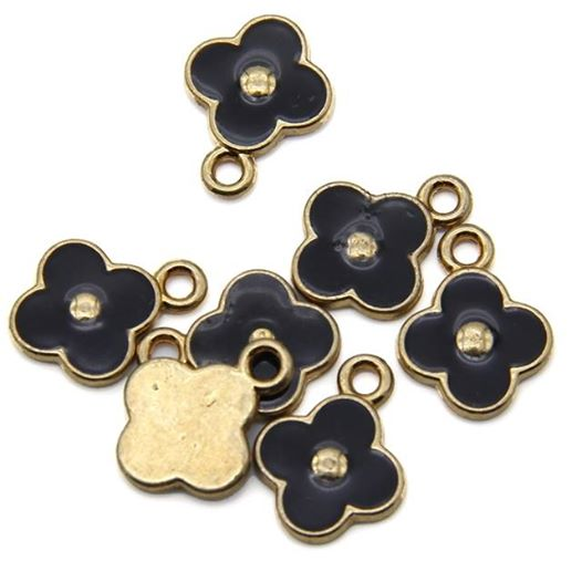 Flower Charms - Lot of 10