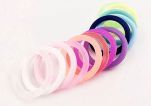 Silicone Pacifier O Rings