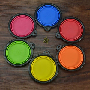Collapsible Silicone Bowls