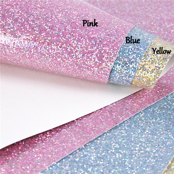 Glitter Synthetic Leather