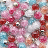 Glass Ball Pendant Charms
