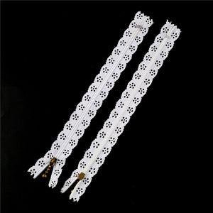 "12"" Lace Zippers - Lot of 10"