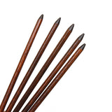 Dark Wood Hair Sticks