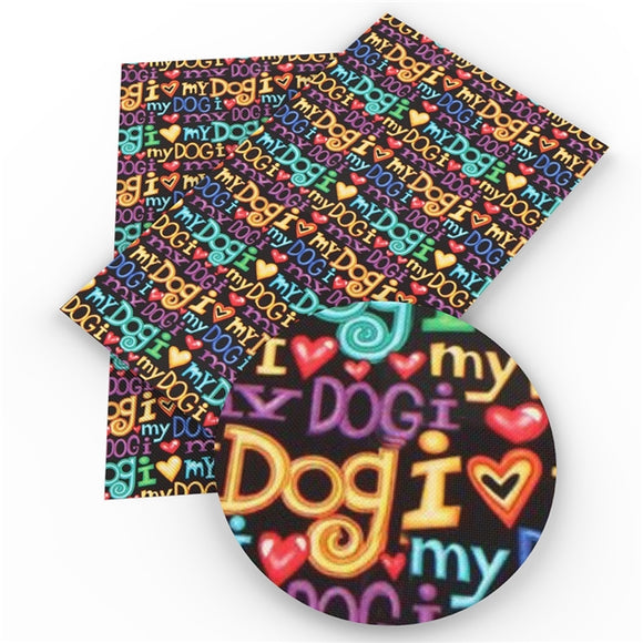 J314 - I love My Dog Roll Pre-Order