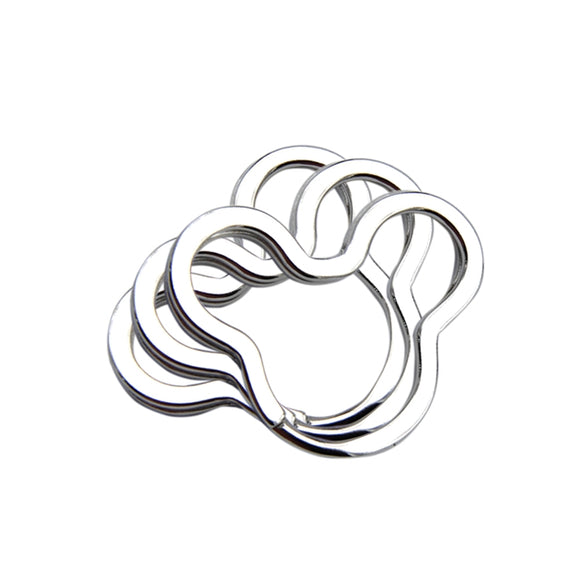 Mouse Head Split Rings - Lots of 10/20