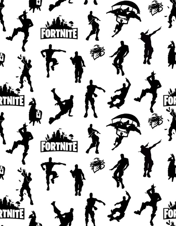 Fortnite - Black and White