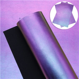Magic Color Faux Leather - Purple