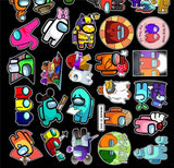 J741 - @mong Us Sticker Lot - Pre-Order closes 1/18/21