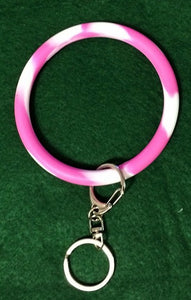Silicone Key Ring Bracelet