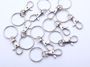 "1"" Split Rings with Swivel Clasp"